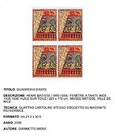 Giannetto bravi archivio opere for Matisse fenetre a tahiti